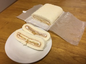 パイロールケーキcut